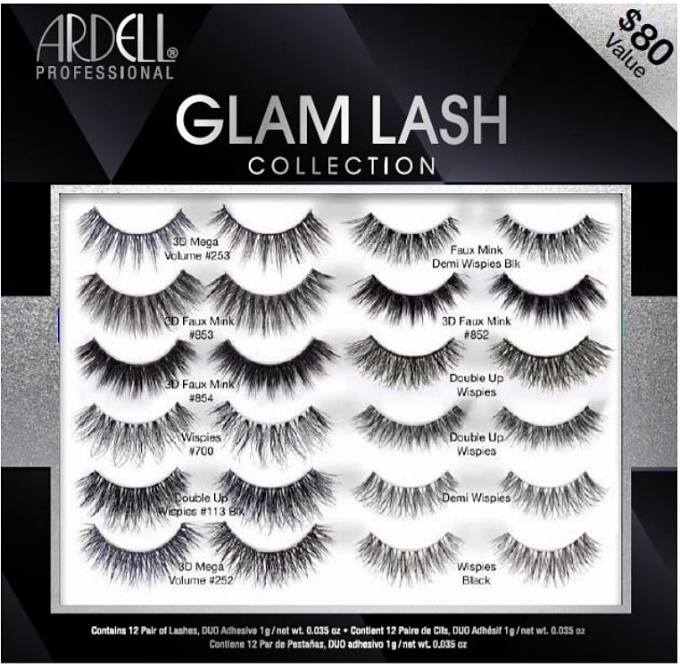 Ardell GLAM Lash 12pc Lookbook Collection (Gift Set)