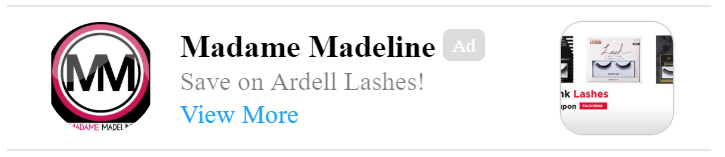 save on ardell lashes! click to save.