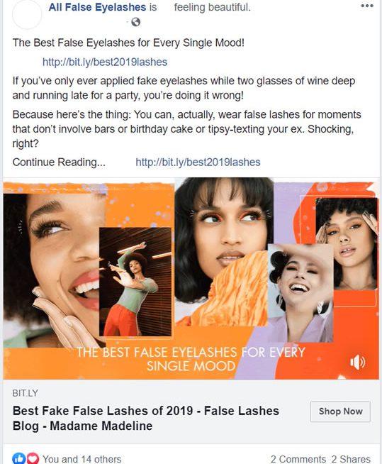 Best false eyelashes for every single mood.