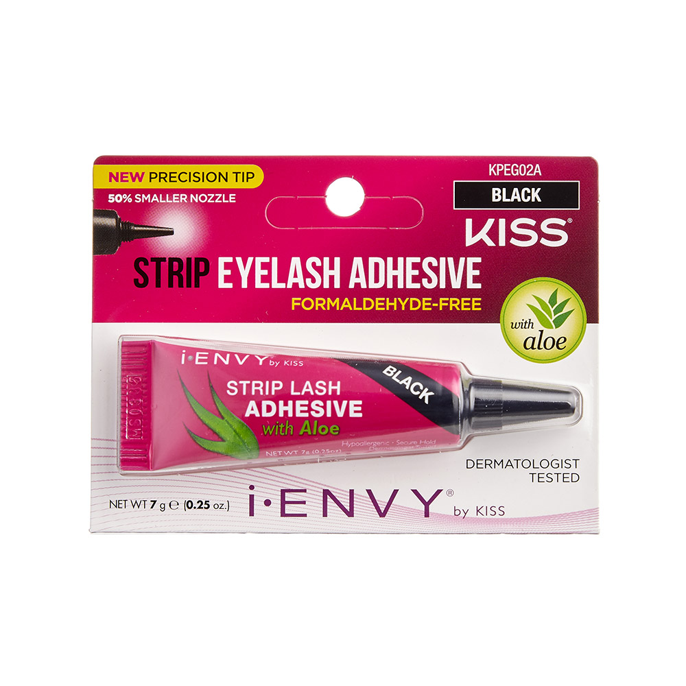 Kiss I-Envy Strip Eyelash Adhesive BLACK (KPEG02A)