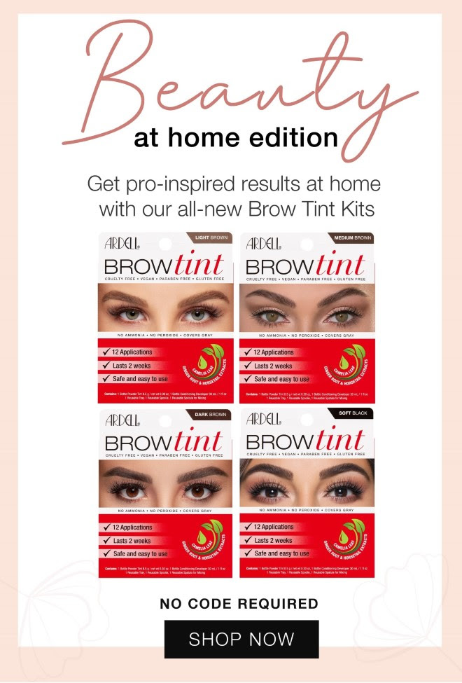 Ardell Brow Tint - the New Beauty at home edition.