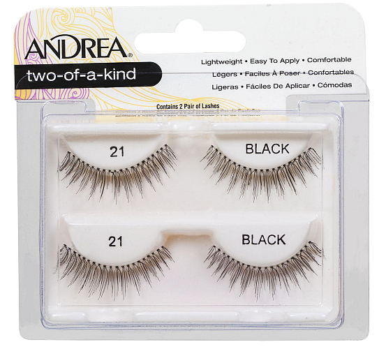 Andrea Two-of-a-Kind (Twin Pack) #21 Lashes