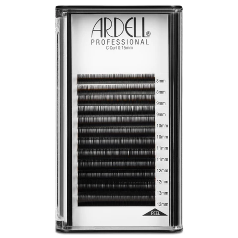 Ardell Professional Individual Lash Extensions (0.15mm) - C Curl, Assorted Multi-length, 8-13mm Pack