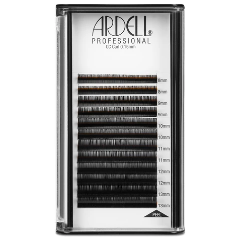 Ardell Professional Individual Lash Extensions (0.15mm) - CC Curl, Assorted Multi-length, 8-13mm Pack