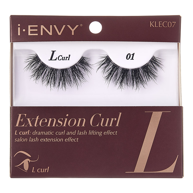 KISS i-ENVY Extension - L Curl 01 (KLEC07)
