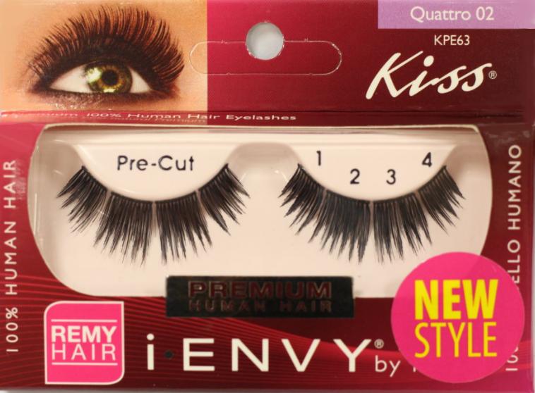 KISS i-ENVY Premium Quattro 02 Lashes (KPE63)