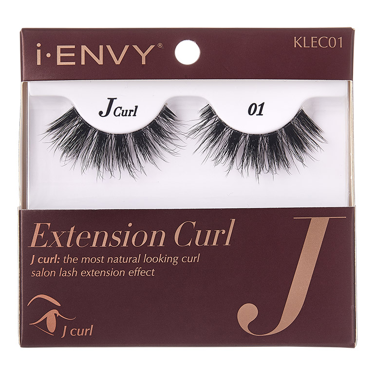 KISS i-ENVY Extension - J Curl 01 (KLEC01)