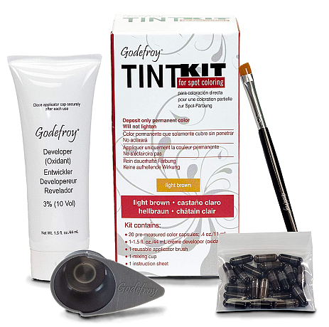 Godefroy Brow Tint Kit for Spot Coloring (20 Application Kit)