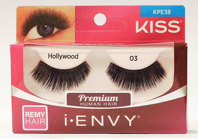 KISS i-ENVY Premium Hollywood 03 Lashes (KPE38)