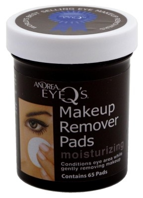 Andrea Eye Q's Moisturizing Eye Makeup Remover Pads 65ea