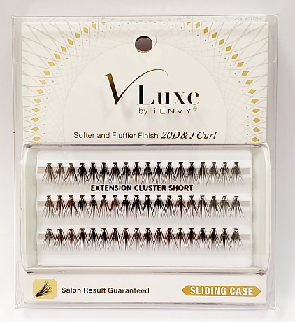 z.V-Luxe by KISS i-Envy Extension Cluster Short Eyelashes (VLEI01)