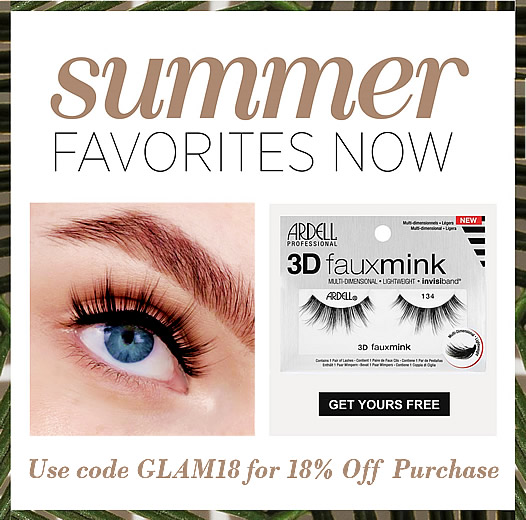 Free Ardell Faux Mink Lashes 134