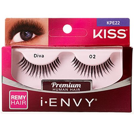 KISS i-ENVY Premium Diva 02 Lashes (KPE22)