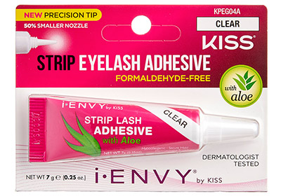 Kiss I-Envy Strip Eyelash Adhesive Clear (KPEG04A)