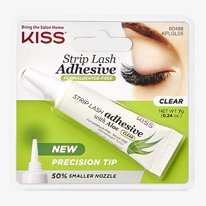 Kiss Strip Lash Adhesive With Aloe Clear 7g (KPLGL05)