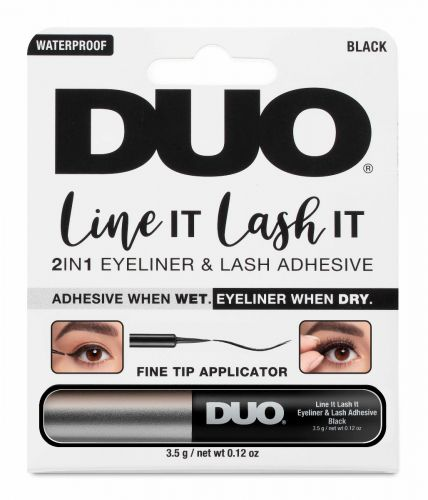 DUO Line It Lash It, 2-in-1 Eyeliner and Lash Adhesive