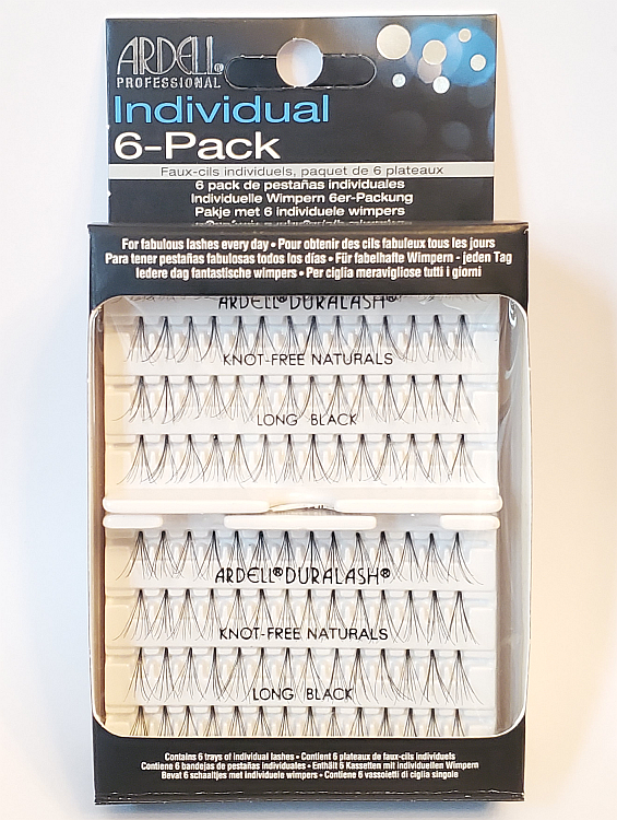 Ardell Professional Individual Lashes Duralash Naturals LONG Lashes 6 Pack