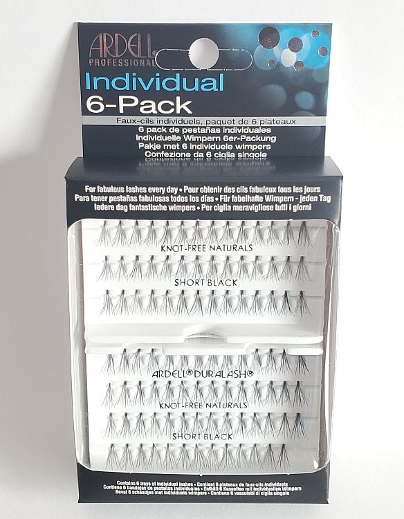 Ardell Professional Individual Lashes Duralash Naturals SHORT Lashes 6 Pack