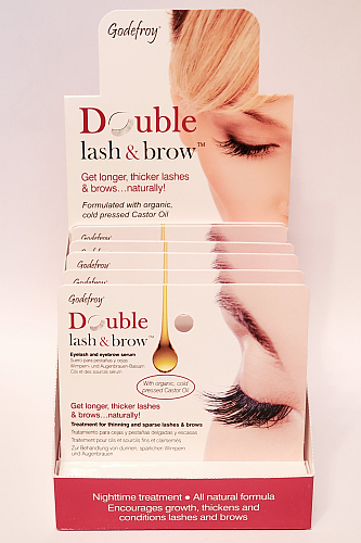 Godefroy Double Lash & Brow 6pc Display