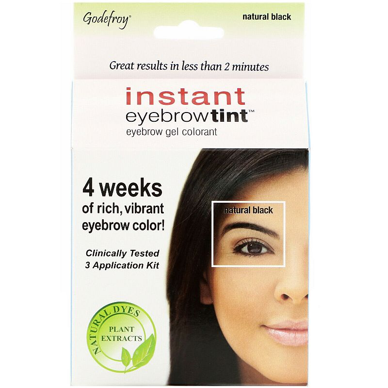 Godefroy Instant Eyebrow Tint Botanicals (3 Application Kit)