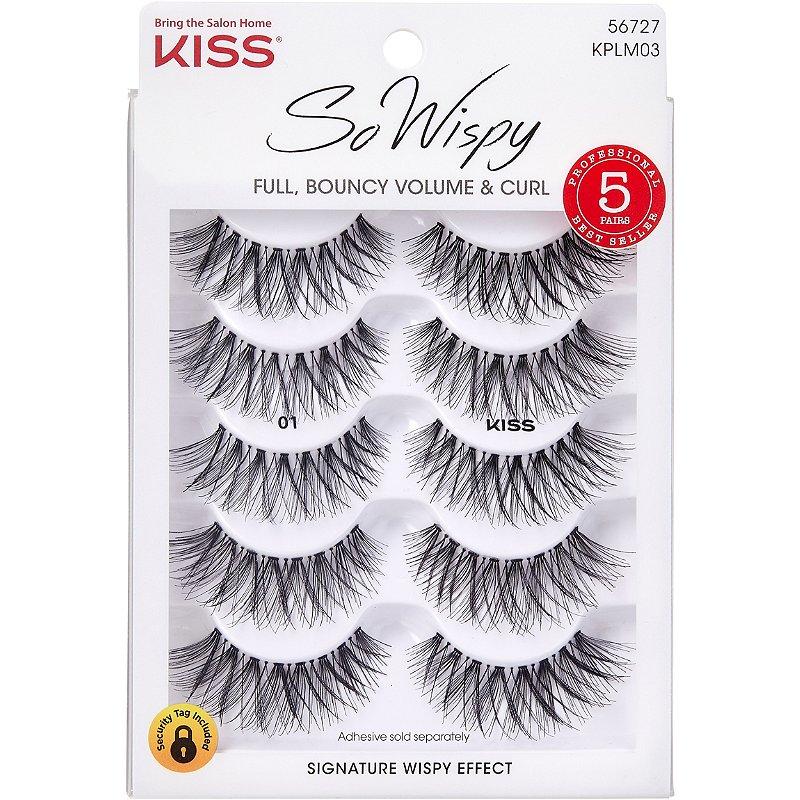 KISS So Wispy Multi-Pack (Lash #01)