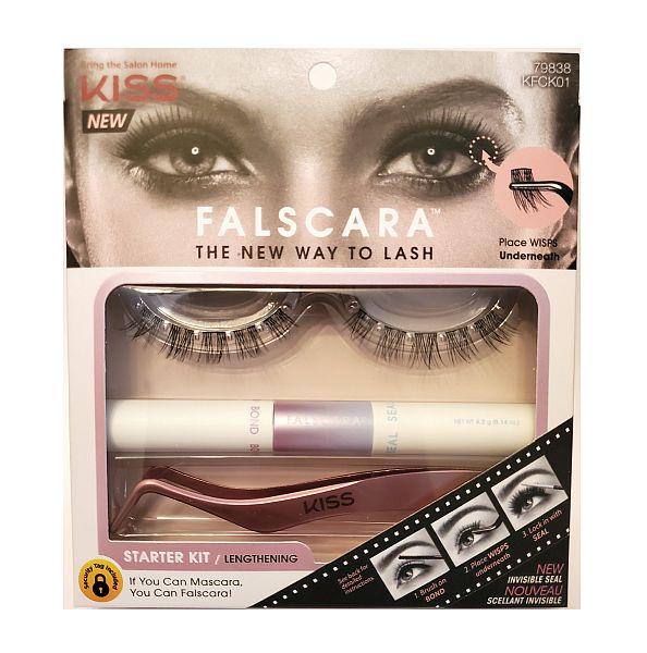 KISS Falscara Eyelashes - Starter Kit 01