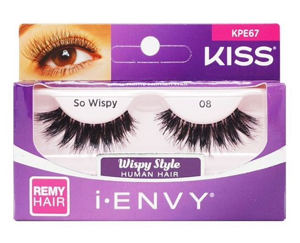 KISS i-ENVY Premium So Wispy 08 Lashes (KPE67)
