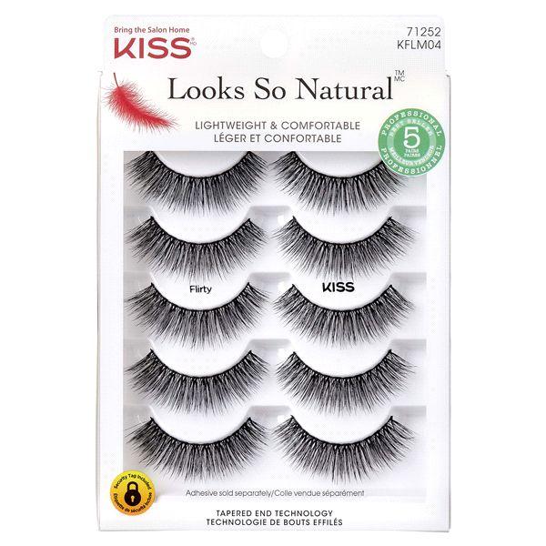 KISS Looks So Natural Multipack Lashes - Flirty (KFLM04)