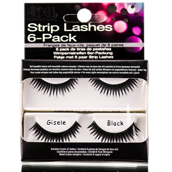 Ardell Professional Strip Lashes Runway GISELE Strip Lash 6-Pack Refills