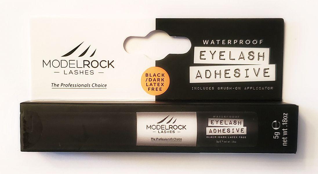 """MODELROCK Lash Adhesive 5gm Waterproof """"LATEX FREE"""" - BLACK/DARK"""