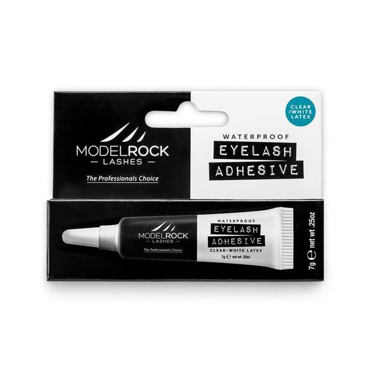 "MODELROCK Lash Adhesive 7gm Waterproof ""LATEX"" - WHITE/CLEAR"