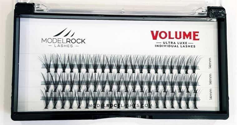 MODELROCK Ultra Luxe Individual Lashes - VOLUME 'EXTRA LONG' 14mm