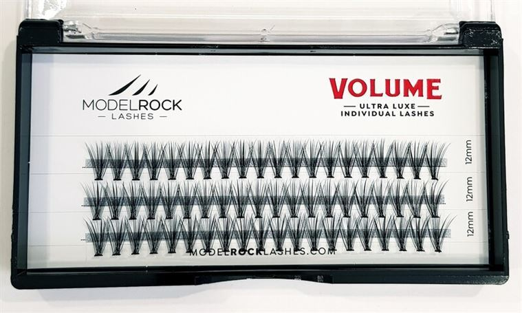 MODELROCK Ultra Luxe Individual Lashes - VOLUME 'LONG' 12mm