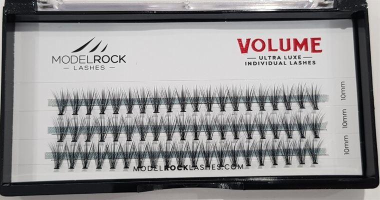 MODELROCK Ultra Luxe Individual Lashes - VOLUME 'MEDIUM' 10mm