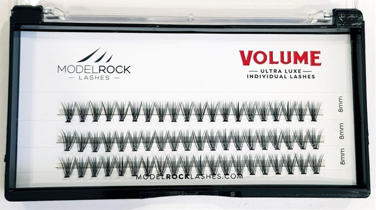 MODELROCK Ultra Luxe Individual Lashes - VOLUME 'SHORT' 8mm
