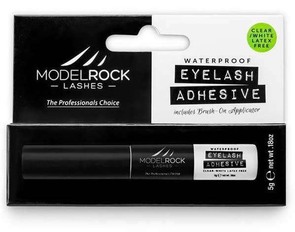 "MODELROCK - Lash Adhesive Waterproof - ""LATEX FREE"" - With ""Brush On"" applicator"