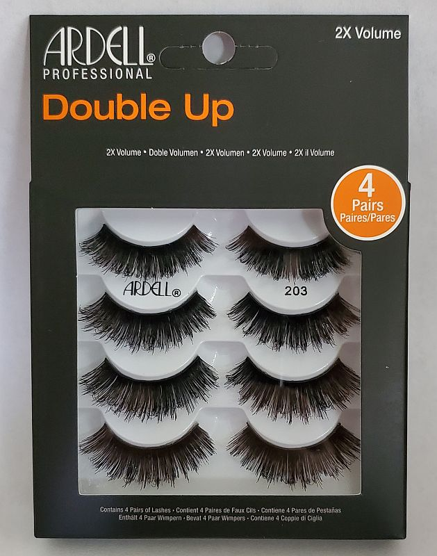 Ardell Double Up 4 Pack Lash 203 Multipack (66690)