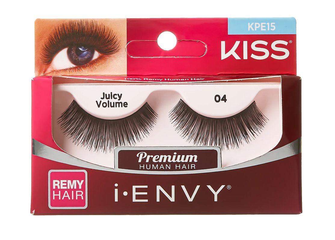 KISS i-ENVY Premium Juicy Volume 04 Lashes (KPE15)