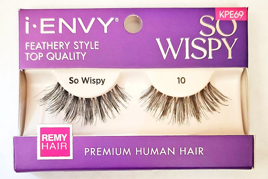 KISS i-ENVY Premium So Wispy 10 Lashes (KPE69)