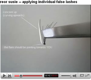 Individual Eyelashes - False Eyelashes