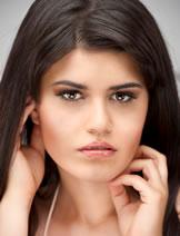 5bbfa98328b Model: Mays A. wearing Ardell Fashion Lashes #105 Black