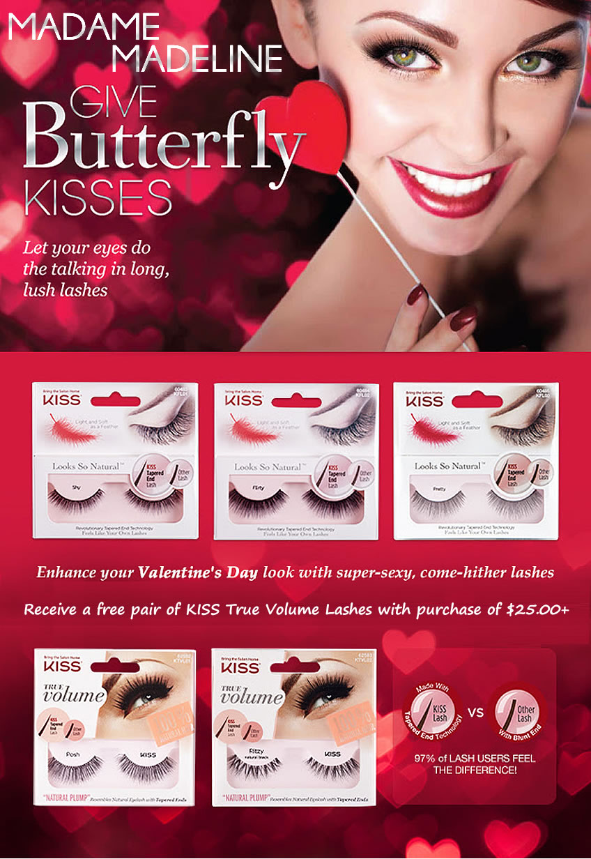 84b1d7b9341 Free Lashes Offer, Direct Order - Madame Madeline Lashes