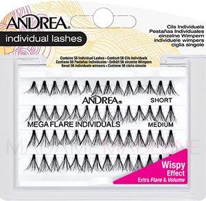 a352eb524b7 Andrea Curl Mega Flare Individuals Combo Pack, Andrea MOD Perma-Lash Flair ( Individual Lashes) - Madame Madeline Lashes