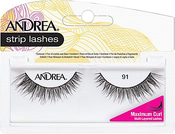 Andrea ModLash Strip Lash Mega Curl #91, Andrea Mod Strip