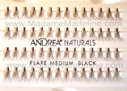 Cluster Lashes include Duralash Naturals, Gypsy Flare, and Andrea Permalash