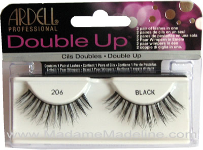 1efffc75135 Ardell Double Up Lash 206, Ardell Double Up Lashes - Madame Madeline ...