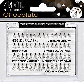 4f3421e3c8d Ardell Chocolate Knot-Free Individuals Combo Pack, Ardell Duralash NATURALS  Individual Lashes - Madame Madeline Lashes