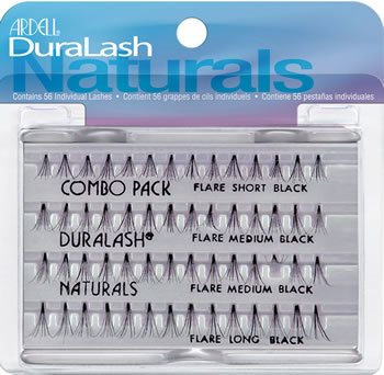 40eefdd26f4 Ardell Duralash Flare COMBO Pack, Ardell Duralash FLARE Individual Lashes -  Madame Madeline Lashes