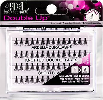 e3757749407 Ardell Duralash Knotted Double Flares Individual Lashes Short Black, Ardell  Duralash FLARE Individual Lashes - Madame Madeline Lashes