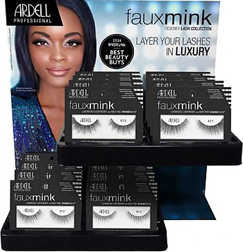 79c8b91da21 Ardell Faux Mink 32 Pc Display (65652), Ardell Faux Mink Lashes - Madame  Madeline Lashes
